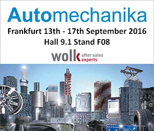 Automechanika 2016 Hall 9.1 Stand F08
