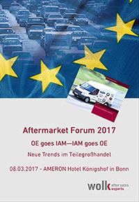 Aftermarket Forum 2017 mailing