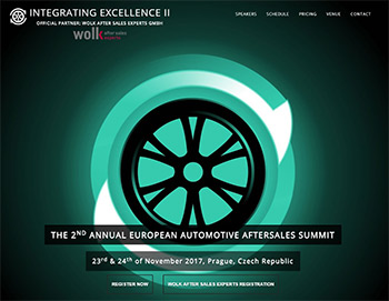 THE 2ND ANNUAL EUROPEAN AUTOMOTIVE AFTERSALES SUMMIT