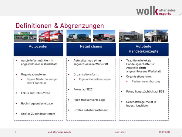 Autocenter Definition von wolk after sales experts GmbH