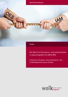 Der Markt für Karosserie-/ Lackarbeiten im Spannungsfeld zwischen IAM & OES