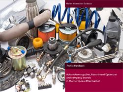 NEW: Report about parts manufacturer, assortment optimizer, repacker and private label brands.