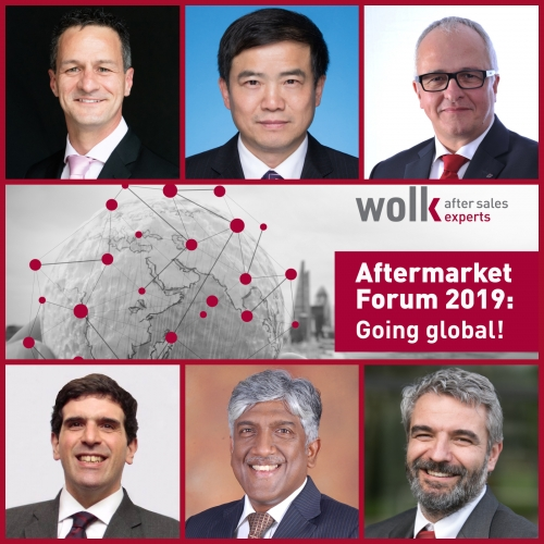 Meet the moderator and first keynote speakers of Aftermarket Forum 2019: Going global!