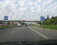 motorway in prague