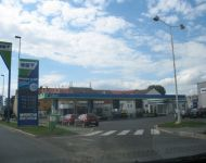 gas station in czech republic